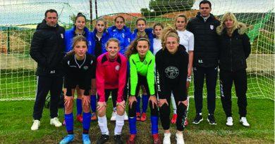 Izvješće sa završne selektivne utakmice NS Split za pionirke (U-15)